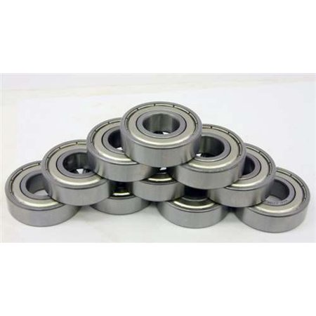 10 Unflanged Shielded Slot Car Bearing 1/8