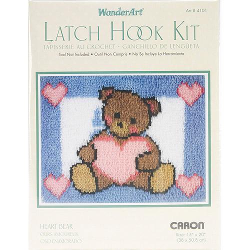 "Wonderart Latch Hook Kit, 15"" x 20"""