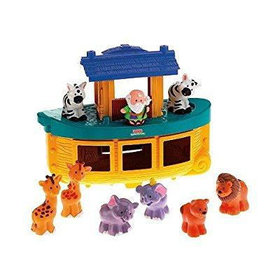 Fisher Price Little People Elephant Figure From 77949 Animal Sounds Zoo Set 2001 Loose Used