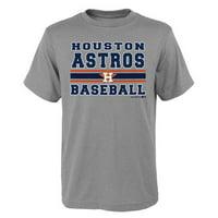 530f64662aa Product Image MLB Houston ASTROS TEE Short Sleeve Boys OPP 90% Cotton 10%  Polyester Gray Team