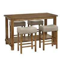 Hathaway 5PC Counter Height Dining Set