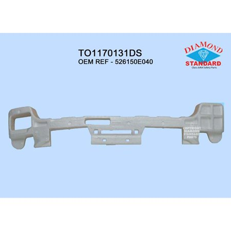 Rear Bumper Energy Absorber - TO1170131 Rear Bumper Energy Absorber for 08-10 Toyota Highlander
