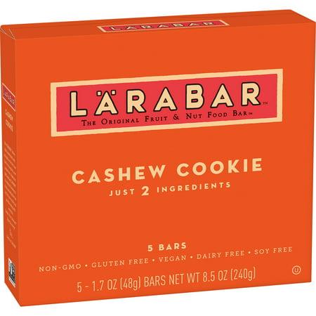 Larabar Gluten Free Bar  Cashew Cookie  1 7 Oz Bars  5 Count