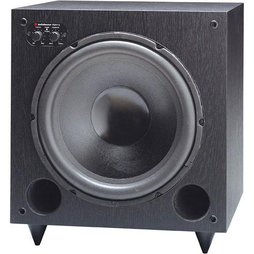 AudioSource PSW Series PSW112 Subwoofer System Black by default
