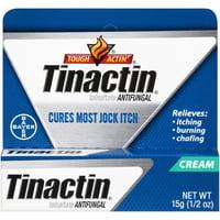 Tinactin Jock Itch Antifungal Treatment Cream, 0.5 Ounce Tube