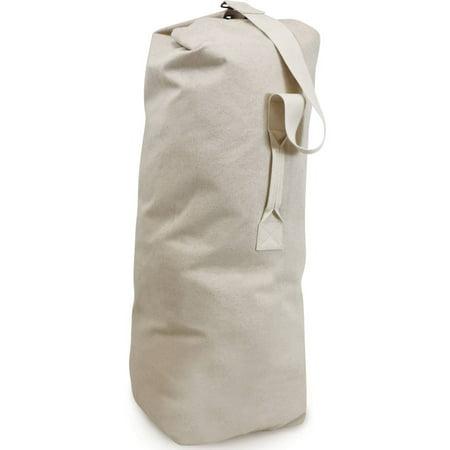 f2bb4838e1e9 Homz Large Canvas Laundry Duffel Bag