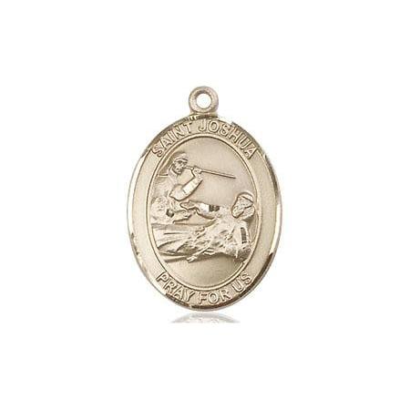 - St. Joshua Patron Saint Medal in 14 KT Gold Filled