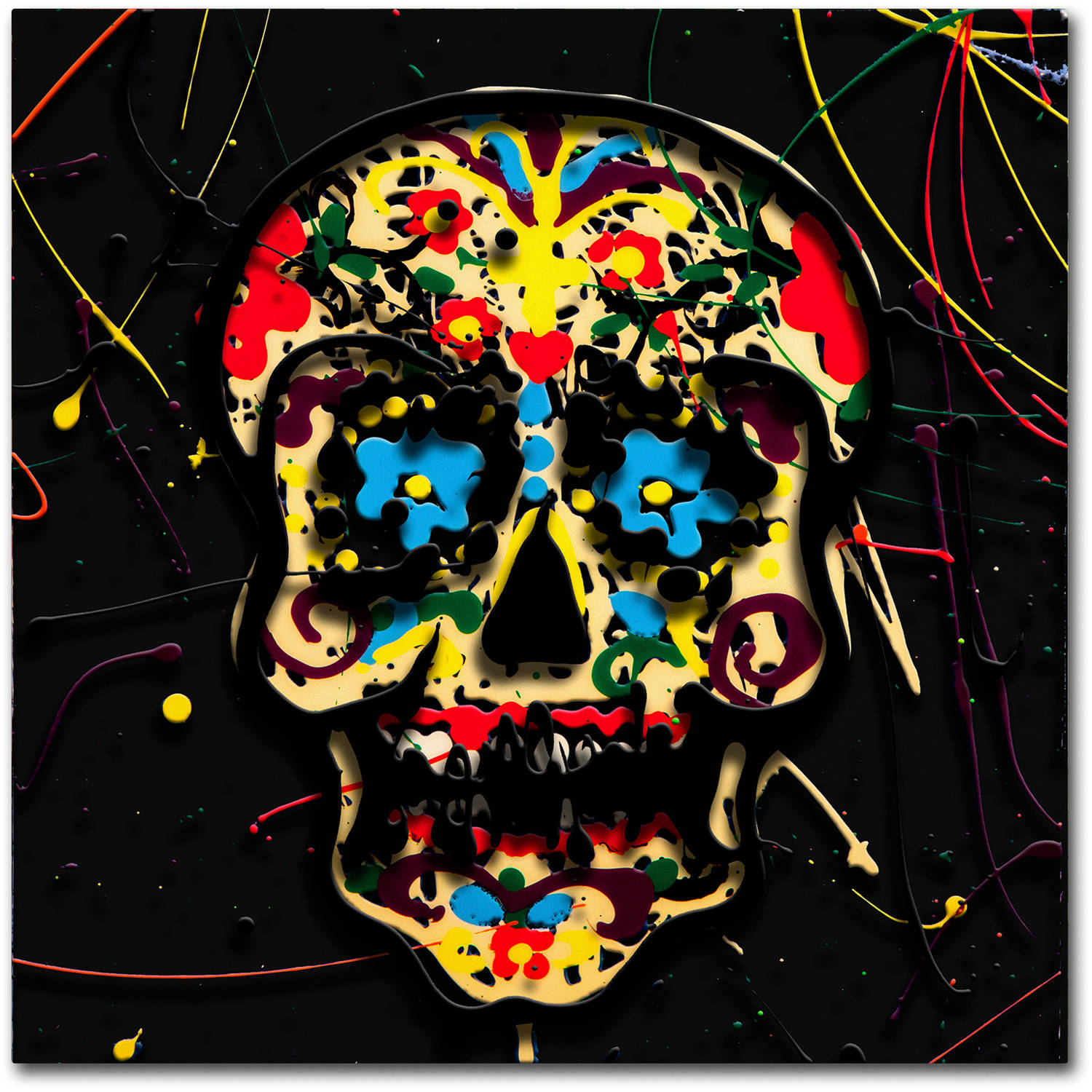 "Trademark Fine Art ""Muertos 3"" Canvas Art by Roderick Stevens"
