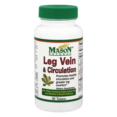 Mason Natural - Leg Vein & Circulation - 30 comprimés
