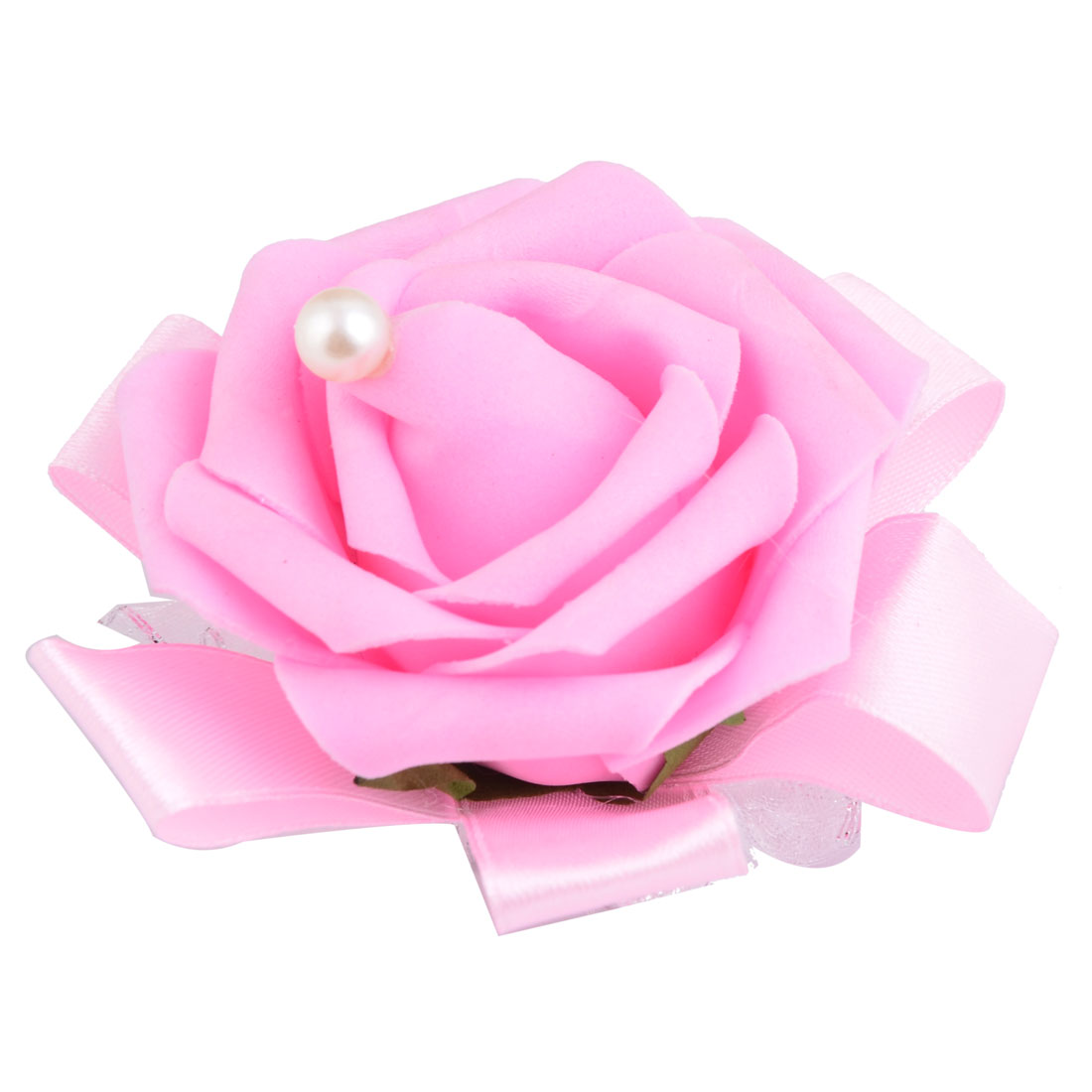 Unique Bargains Wedding Foam Rose Design Bridesmaid Hand Decorative ...