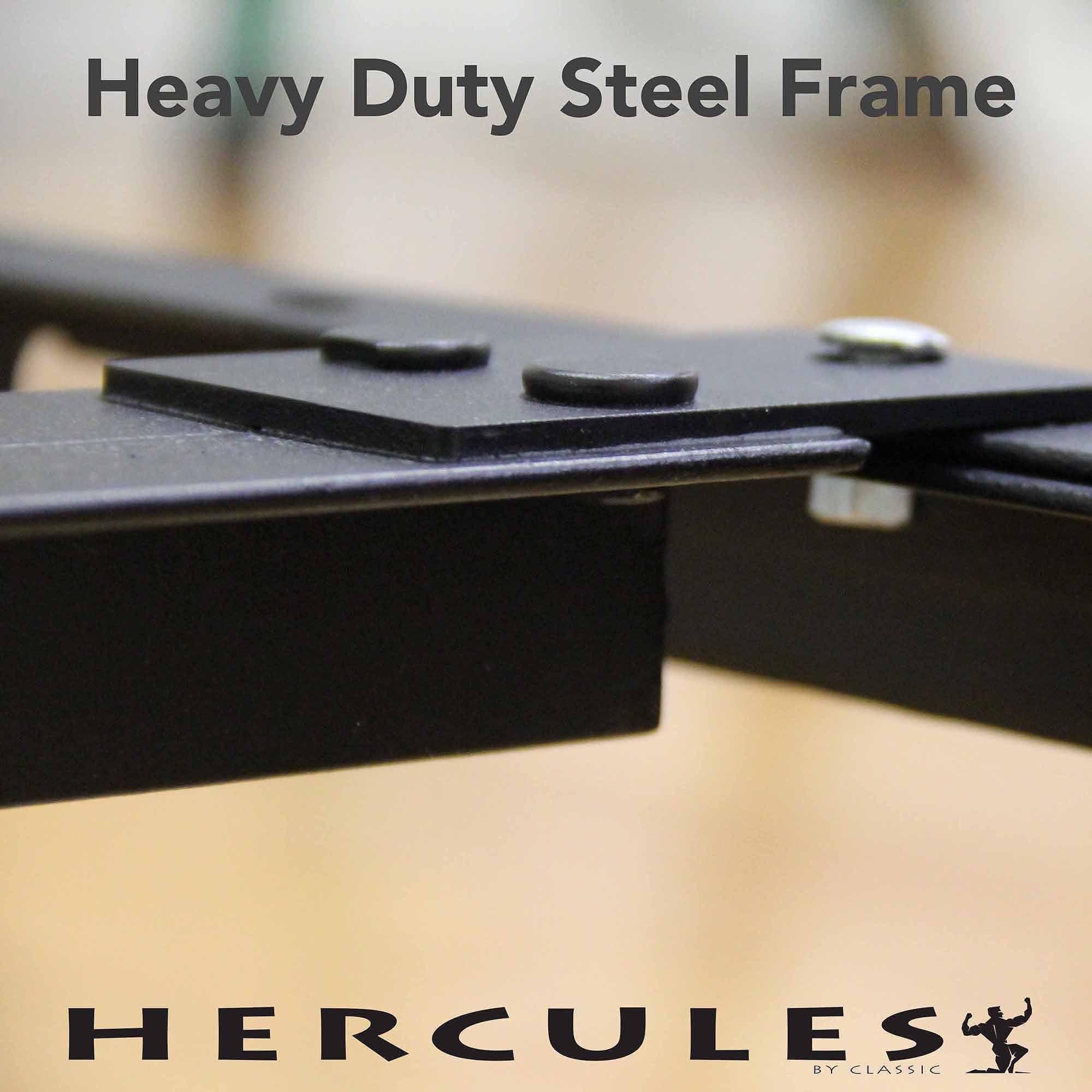 Modern Sleep Adjustable Metal Bed Frame Double Rail Center
