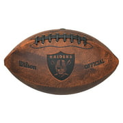 Wilson - NFL 9 Inch Throwback Football - Oakland Raiders