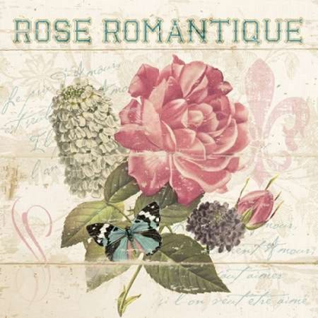 La Rose Romantique Poster Print By Piper Ballantyne