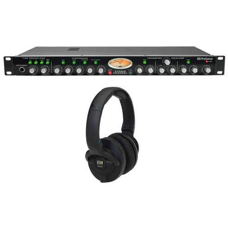 - Presonus StudioChannel Studio Channel Recording Tube Mic Preamp + KRK Headphones