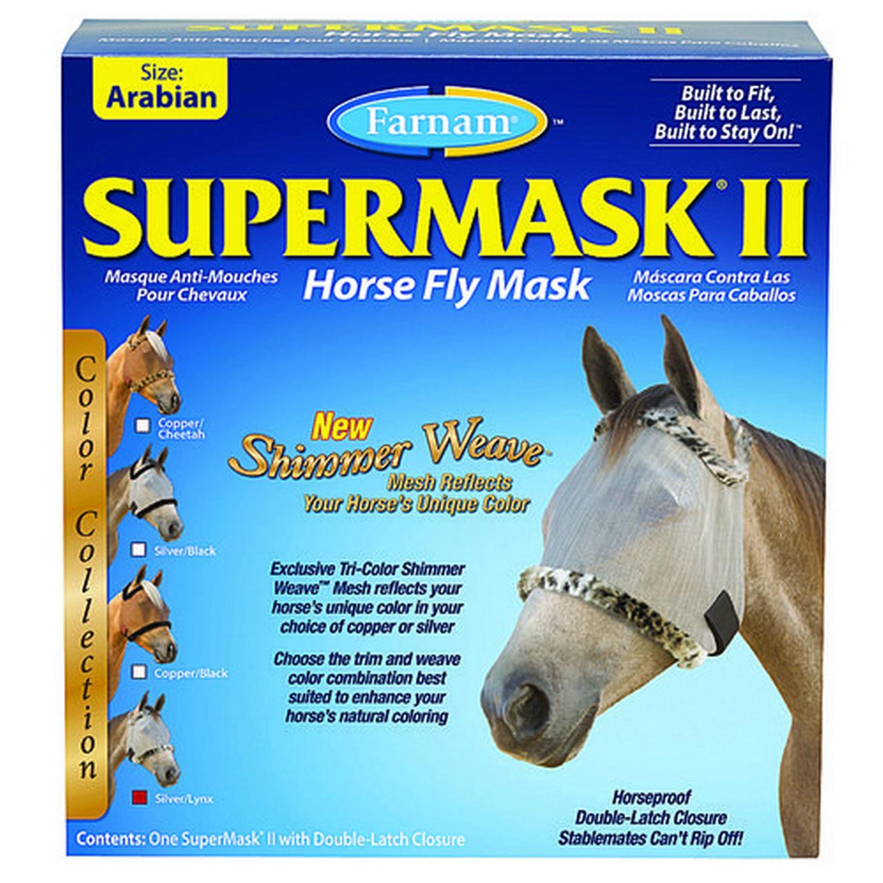 Farnam Companies Inc - Supermask Ii Without Ears- Silver-lynx Arabian - 100503756