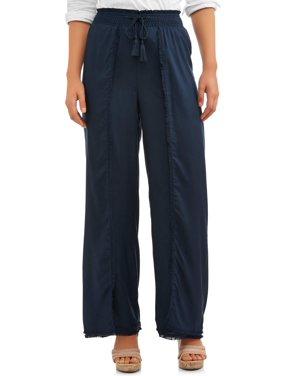 b3ca3bd5 Product Image Women's Fray Edge Long Pant