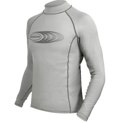 Ronstan Long Sleeve Rash Guard Top - Upf50+ - Ice Grey - Medium 95 Ice Grey Vessels