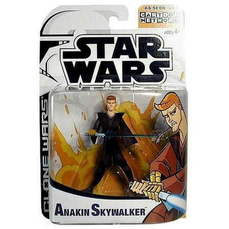 Star Wars Clone Wars Cartoon Network Anakin Skywalker Action Figure - Clone Wars Plo Koon