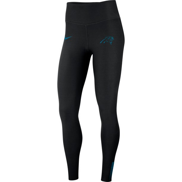 Carolina Panthers Nike Women's Power Sculpt Performance Leggings - Black