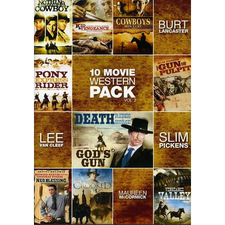 10-Movie Western Pack 2 -