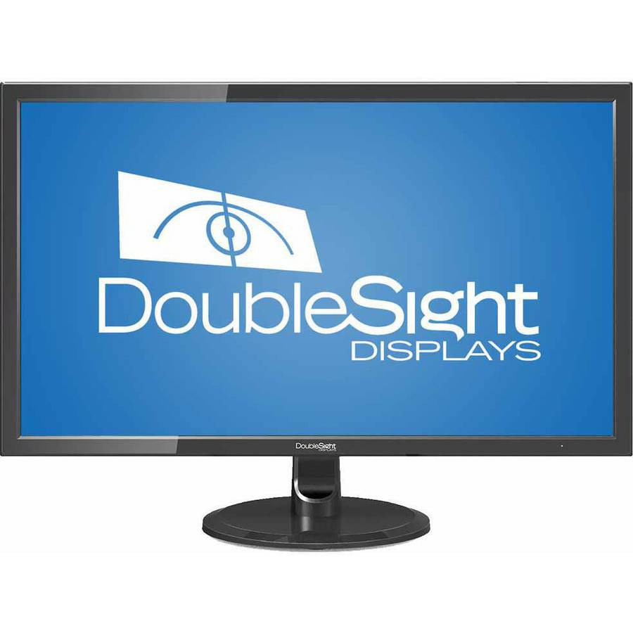 "DoubleSight 28"" Ultra HD LCD Monitor (DS-280UHD Black)"