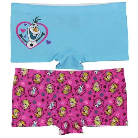 dd0704f62 Disney - Pack of 6: Disney Girls Bikini & Boyshort Underwear Assorted  Styles & Sizes - Walmart.com