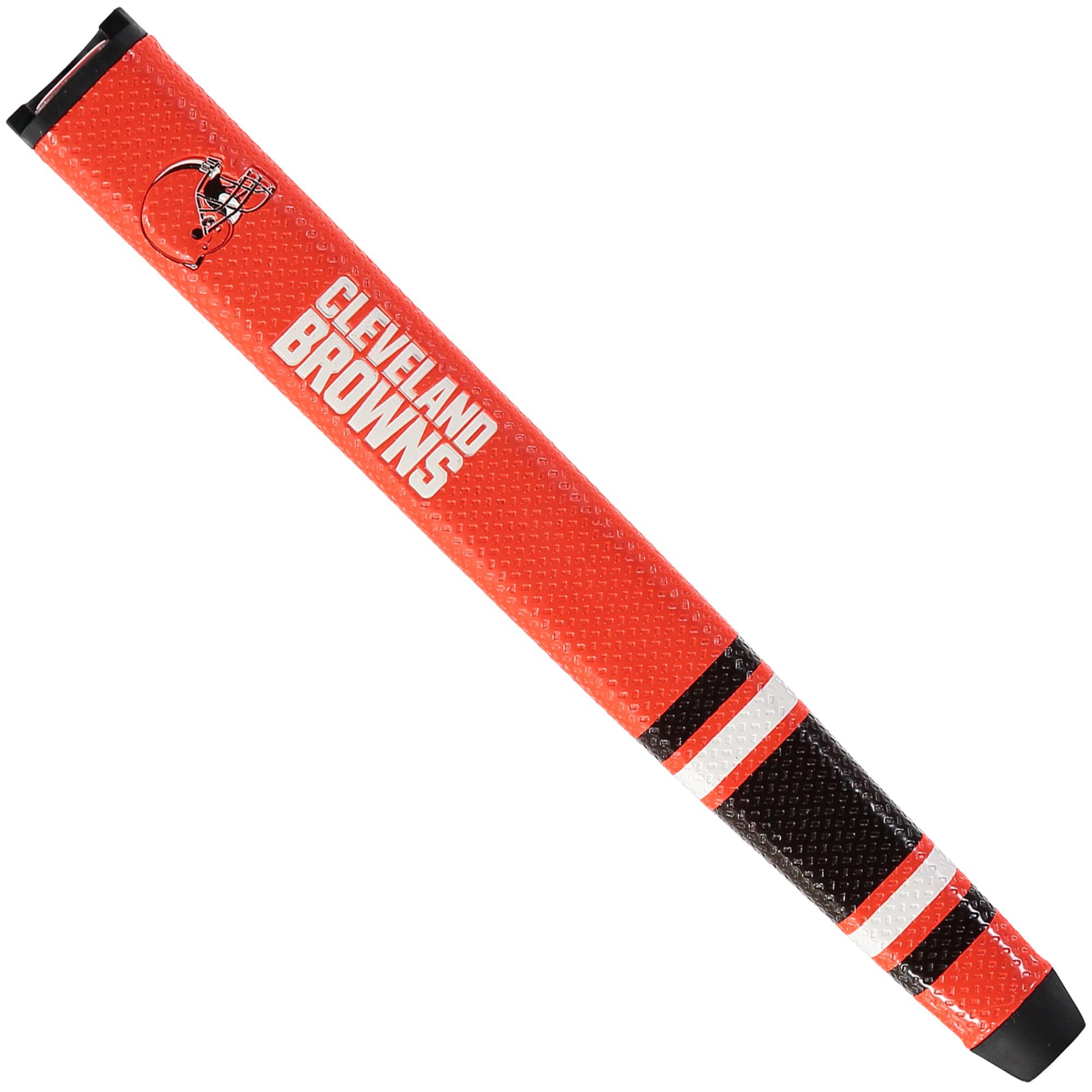 Cleveland Browns Logo Golf Putter Grip - No Size