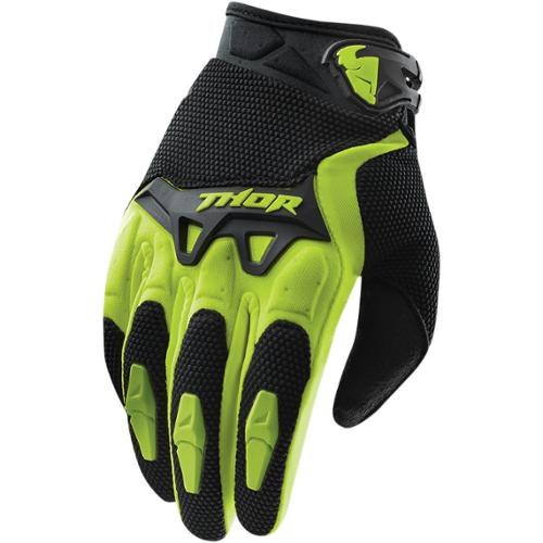 Thor Spectrum 2015 Youth MX Gloves Green