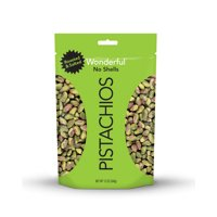 Wonderful No Shell Pistachios, Roasted & Salted, 12 Oz