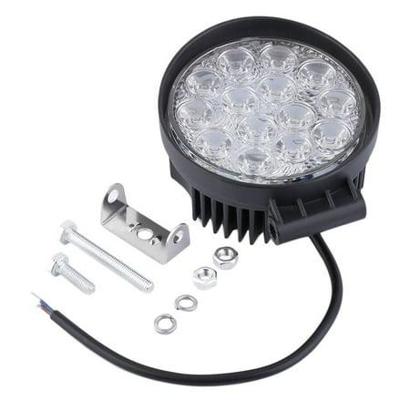 Waterproof Shockproof 42W Off Road Light Round LED Work Light LED ...