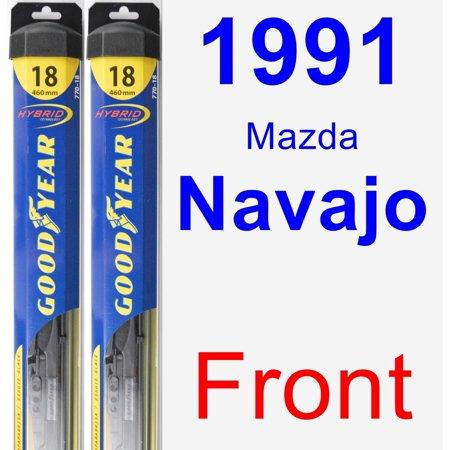 - 1991 Mazda Navajo Wiper Blade Set/Kit (Front) (2 Blades) - Hybrid