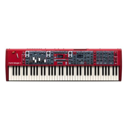 Nord Stage 3 Compact 73-Key Semi-Weighted Keybed with Physical (Best Compact Midi Keyboard)