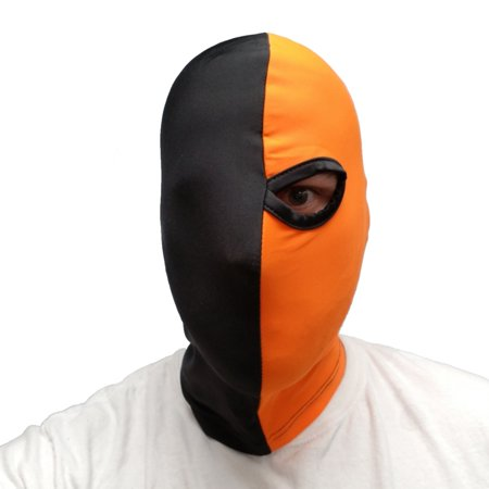 Terminator Mask (Deathstroke Mask Arrow One Eye One-Eyed Mask Batman Costume Cosplay)