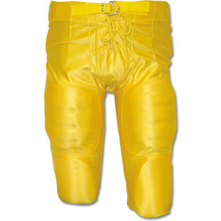 Youth Dazzle Football Pants w// Pads Vegas Gold//XXL Alleson Athletic