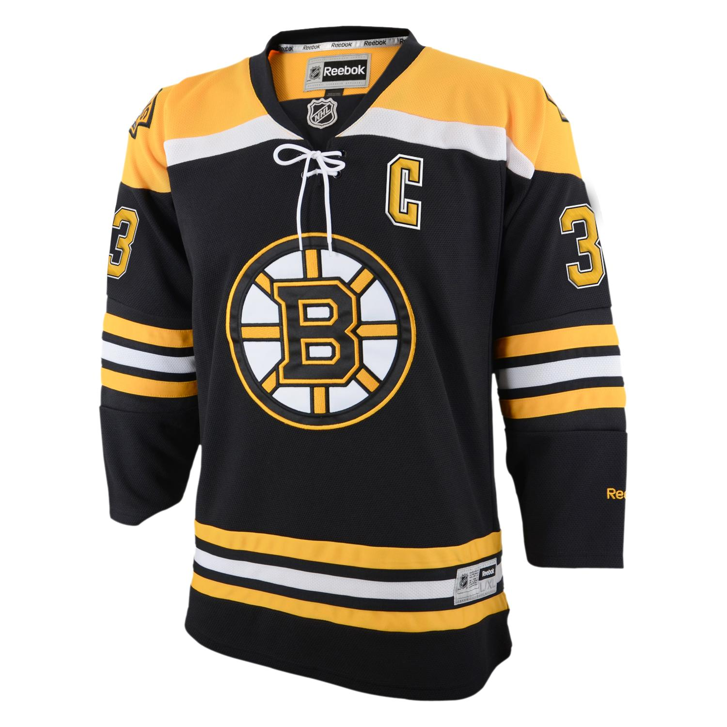 Zdeno Chara Boston Bruins Reebok NHL Youth Premier Jersey - Black