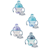 Tommee Tippee First Sips Soft Transition Cup, 4+ months – 5 ounces, 1 Count (Colors May Vary)