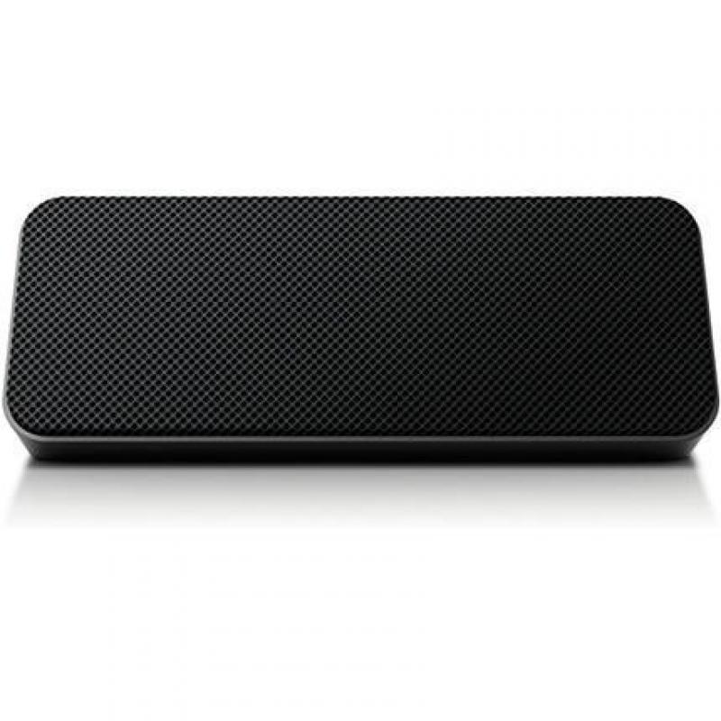 Philips Portable Wireless Bluetooth Bass Reflex Speaker, Black, SBT300BLK/37