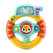 VTech Grip and Go Steering Wheel Interactive Driving Toy for Babies