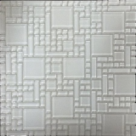 Glass Mosaic Wall Tile 12in.x12in.x6mm - #04103 - 6 tiles/6 sq.ft