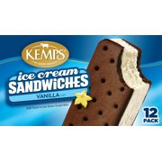 Kemps Vanilla Ice Cream Sandwiches, 12 ea