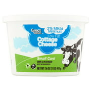 Great Value 2% Lowfat Cottage Cheese