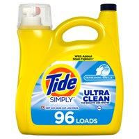 Tide Simply Refreshing Breeze, 96 Loads Liquid Laundry Detergent, 150 fl oz