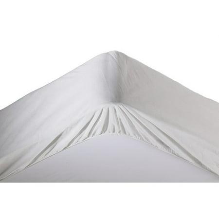 Mainstays Waterproof Fitted Mattress Cover Walmart Com