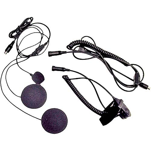 Midland 2-Way Radio Headset Kit for Closed Motorcycle Helmets