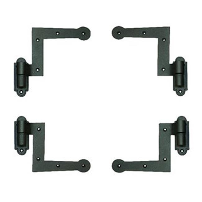 4 Hardware Set Wood Mount with S//Dogs 2 New York Style Shutter Hinge