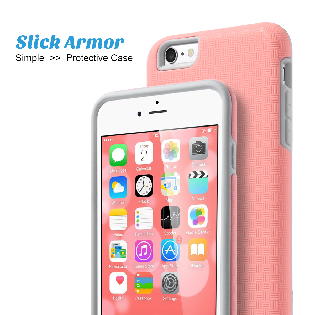 Iphone 6s Plus Case 5 5 Inch Iphone 6 Plus Case Ulak Iphone 6s Plus Case 5 5 Inch Phone 6 Plus Case Slick Armor Hybrid Hard Cover Case Walmart Com Walmart Com