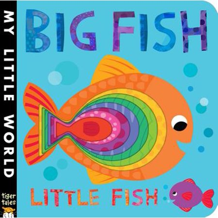 Big Fish Little Fish (Board Book) - Bug Eyed Fish