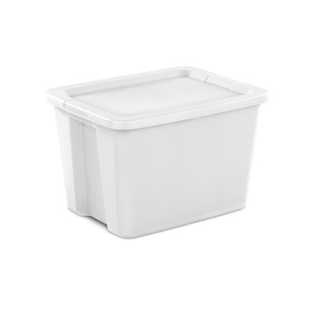 Sterilite 18 Gal. Tote Box White