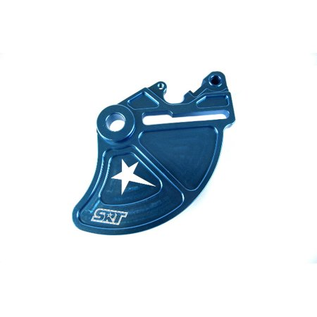 SRT Pro Armor Brake Disc Rotor Guard Blue 20mm Spindle KTM Husqvarna (Best Downhill Disc Brakes)
