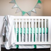 Pam Grace Creations Simply Striking 4-Piece Crib Set